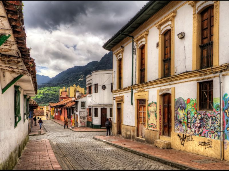 la candelaria what to do in Bogota colombia