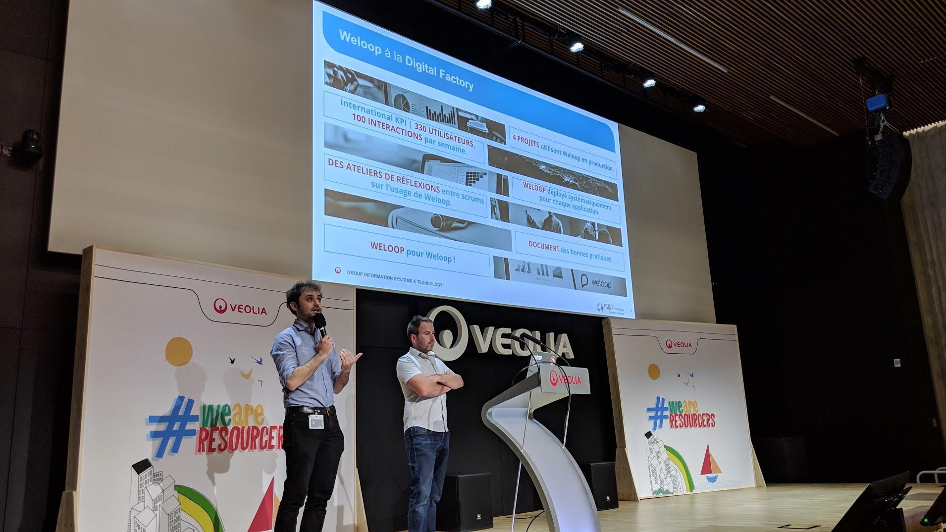 [Use Case] WeLoop, partenaire de la Transformation Digitale de Veolia