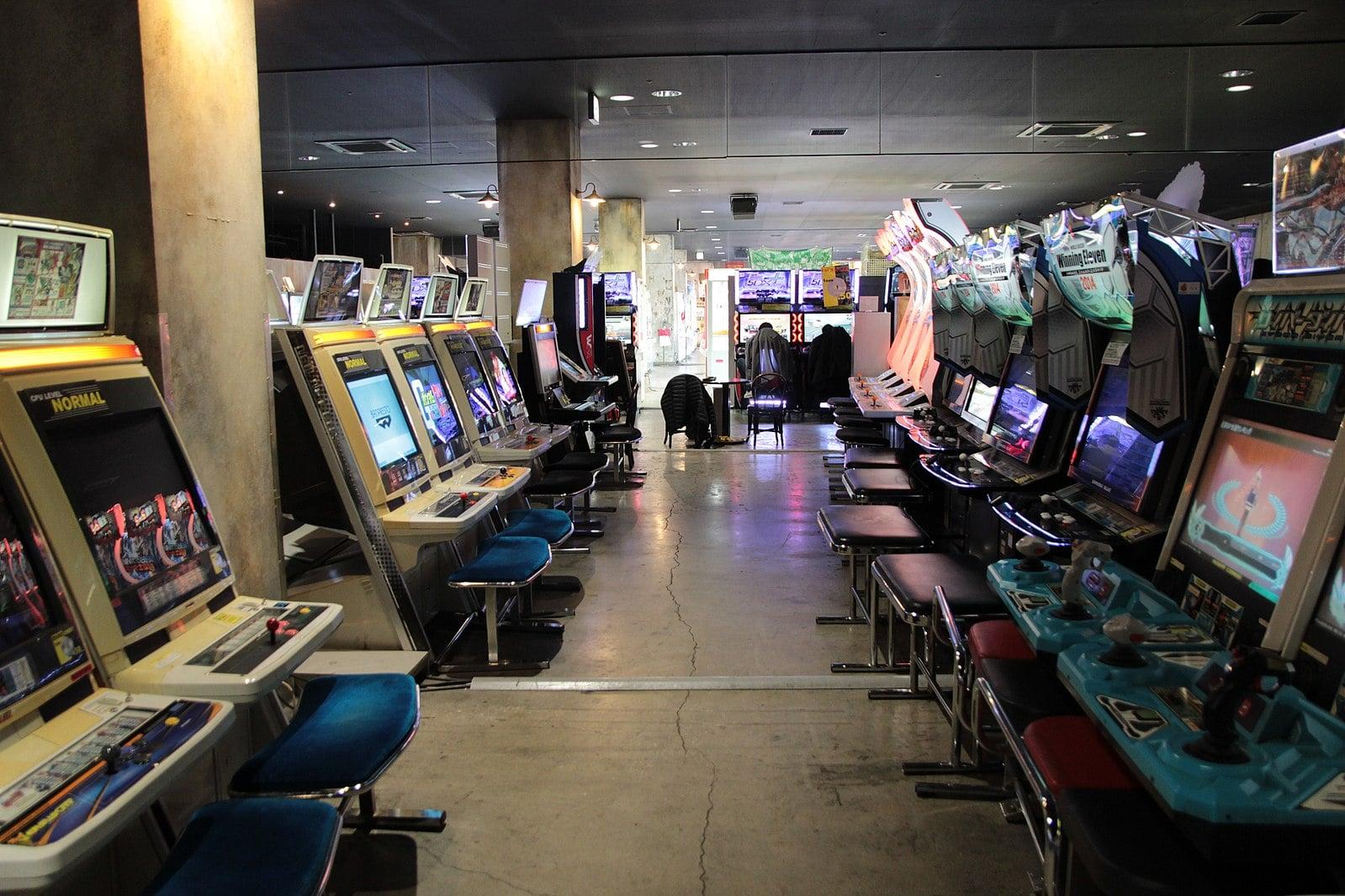 Anata No Warehouse Arcade in Tokyo Japan
