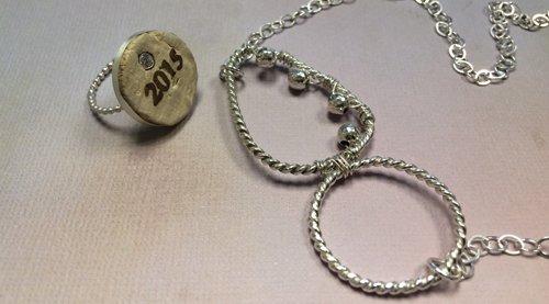 Fancy pattern jewelry wire