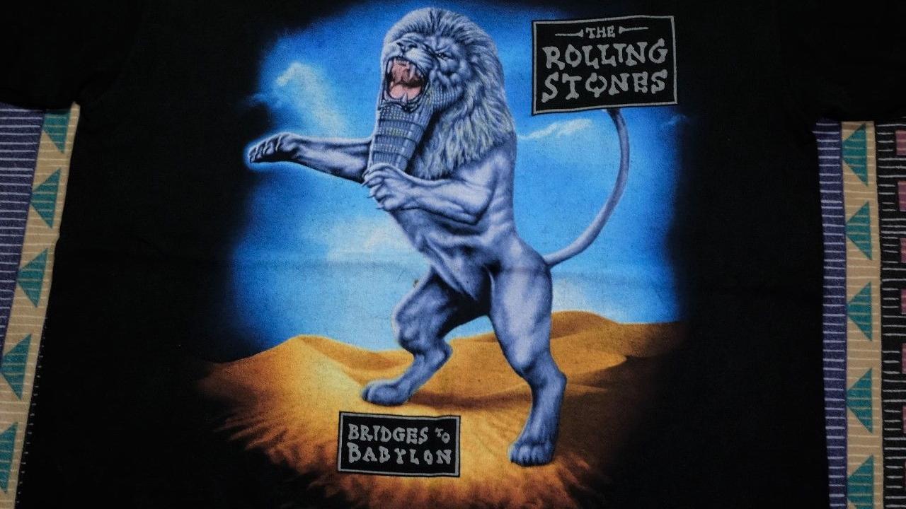 A 1997 Rolling Stones tour t-shirt