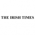 The Irish Times black and white logo