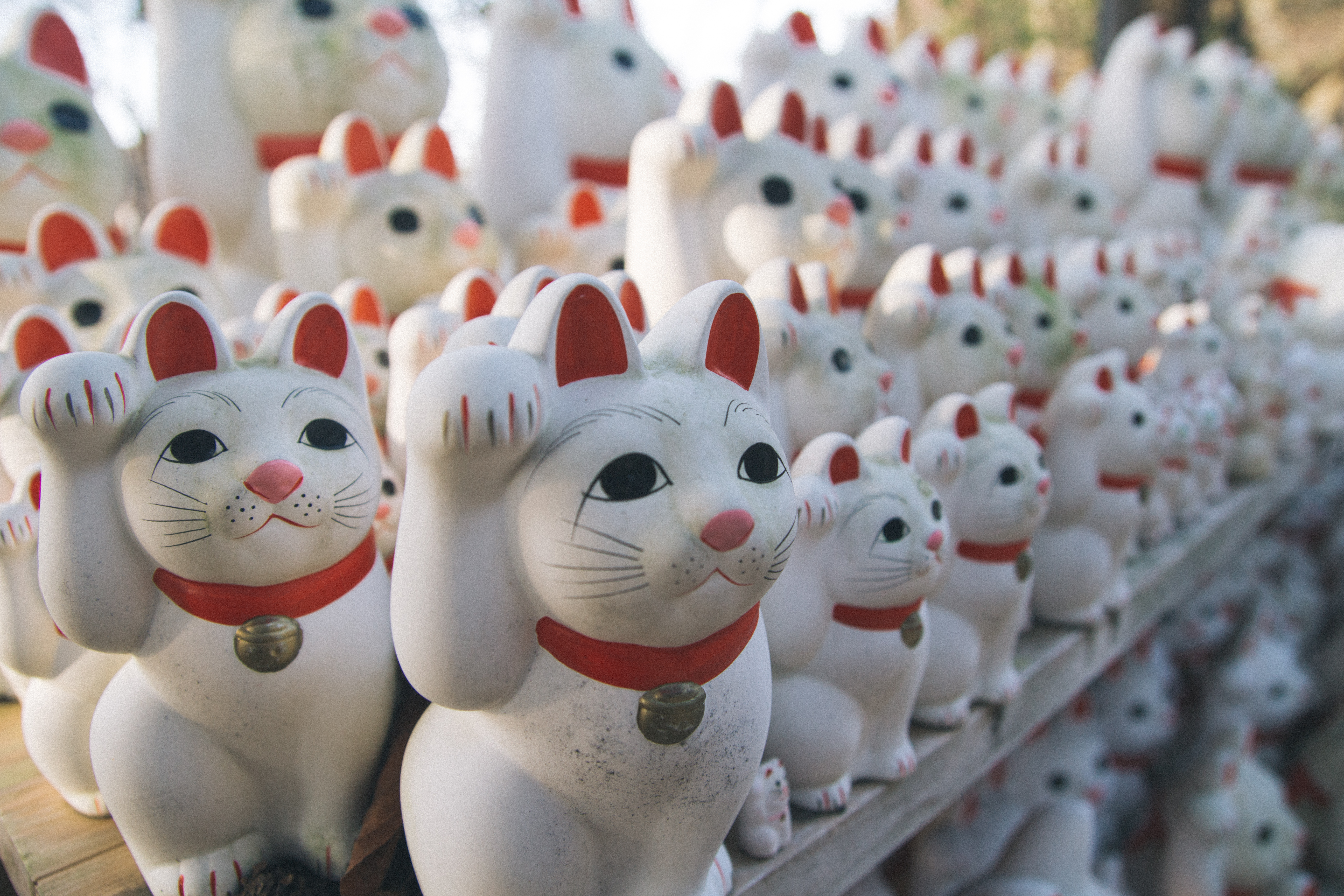 The waving cats of Gotokuji Temple make a well-loved attraction on TripAdvisor Japan