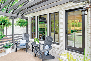 Inswing French fiberglass doors from Infinity from Marvin