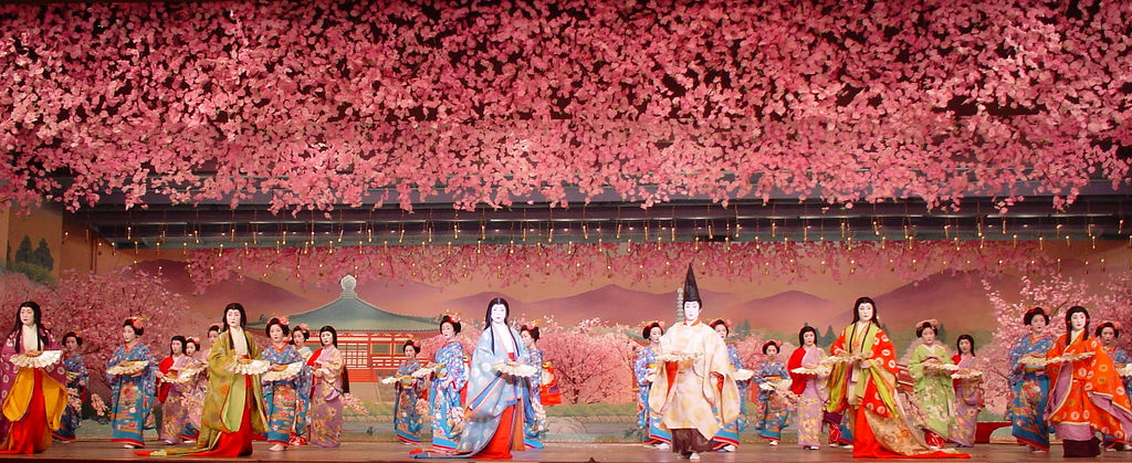 Seeing geishas at the Miyako Odori is one of the Things to do in Japan in April