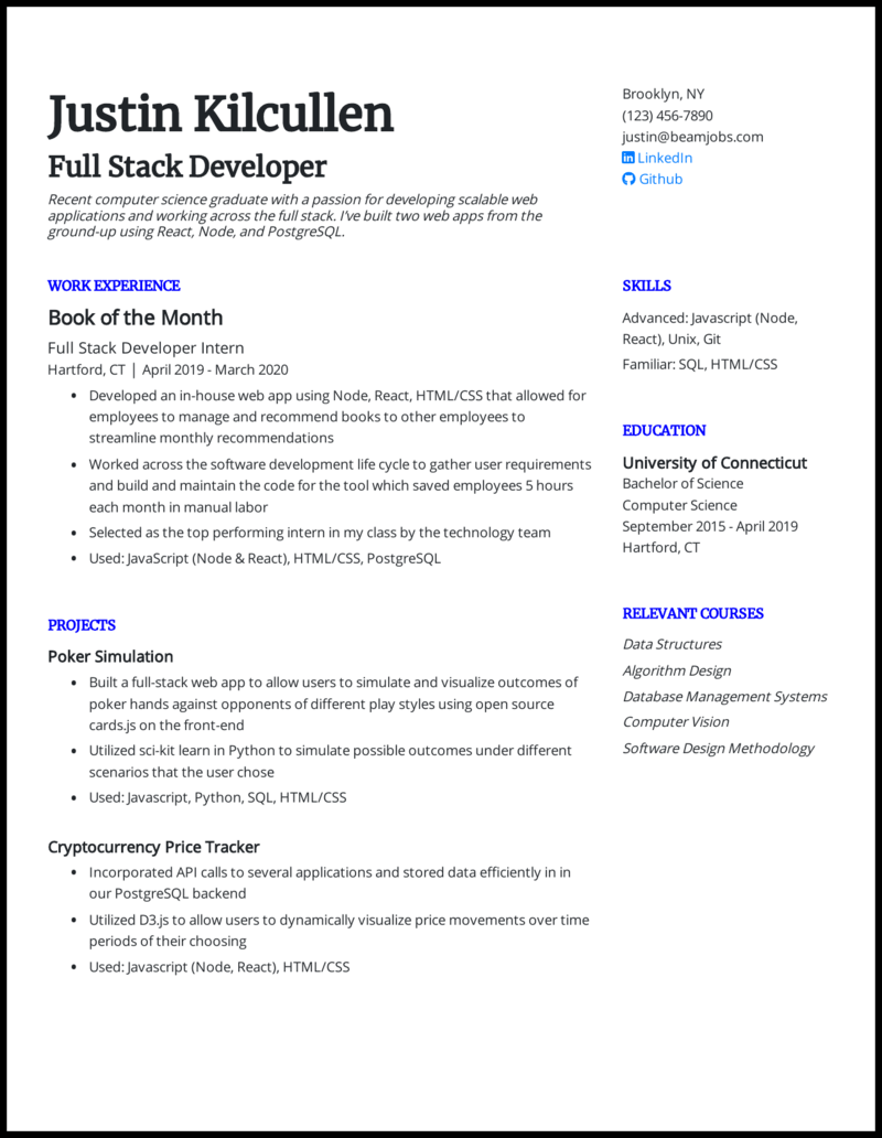 27 Entry Level Resume Examples That Landed Jobs In 27