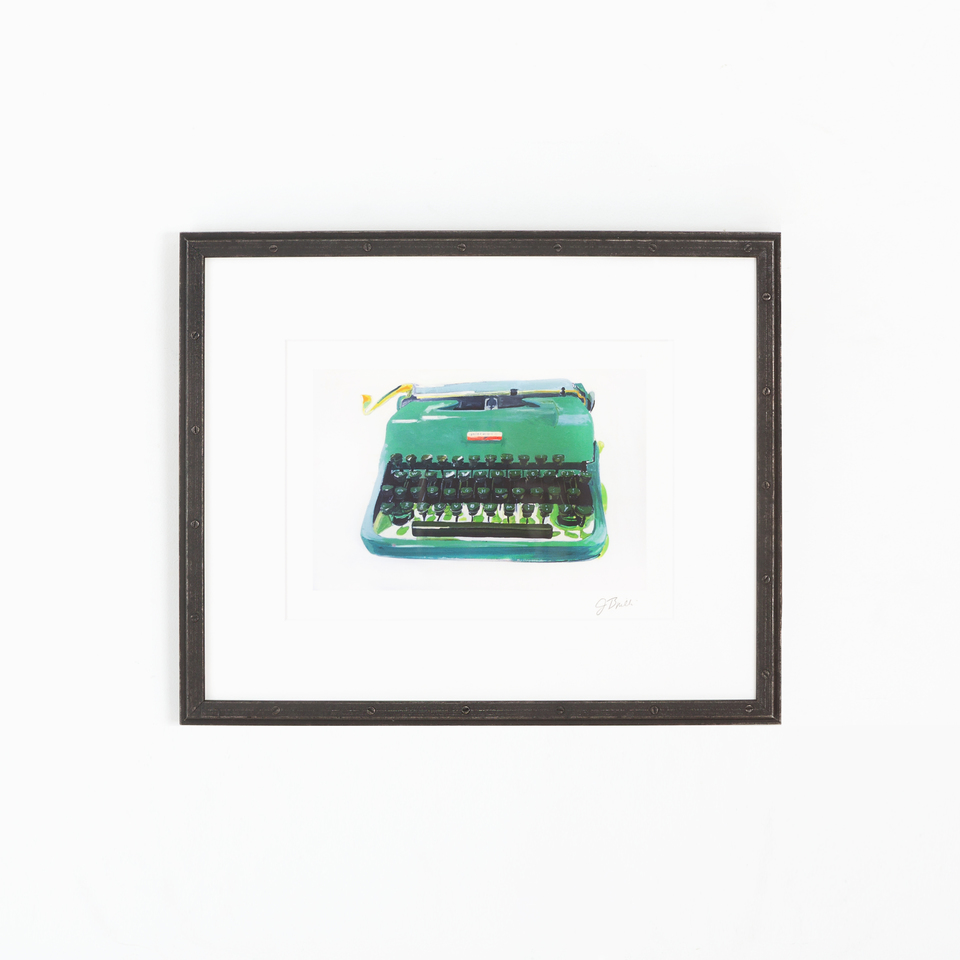 Bolton Product Photo, edgy industrial black  frame