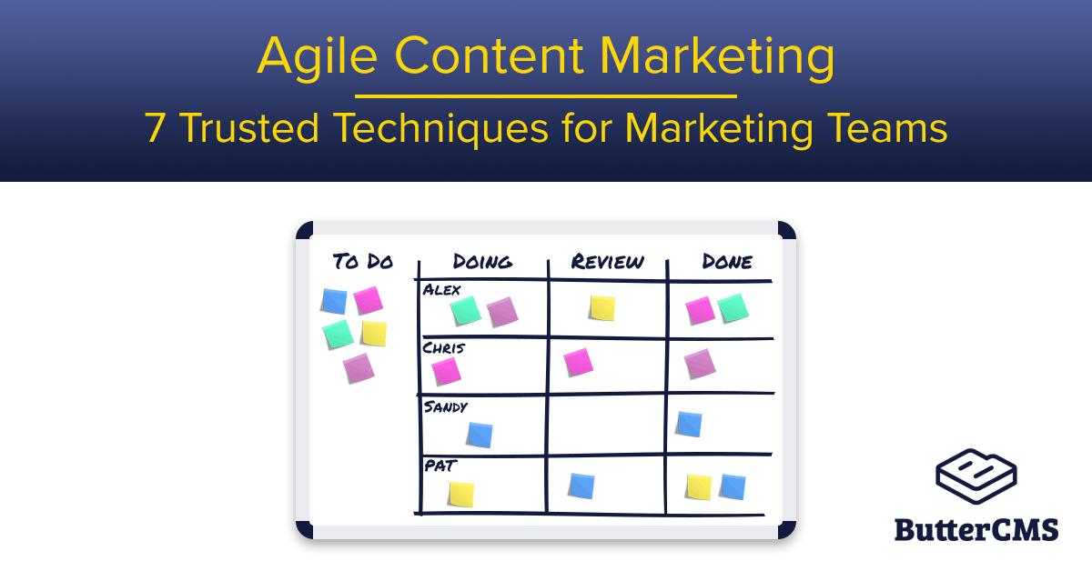 Agile Content Marketing: Cover Image