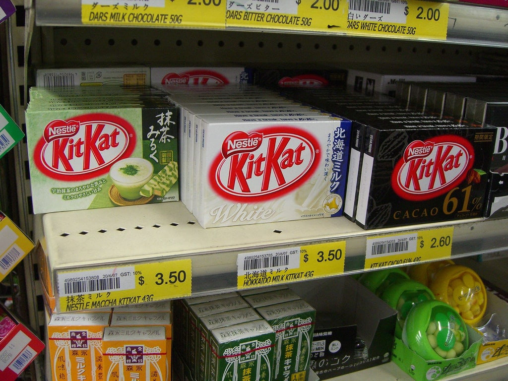 kit kats are what to buy in Japan