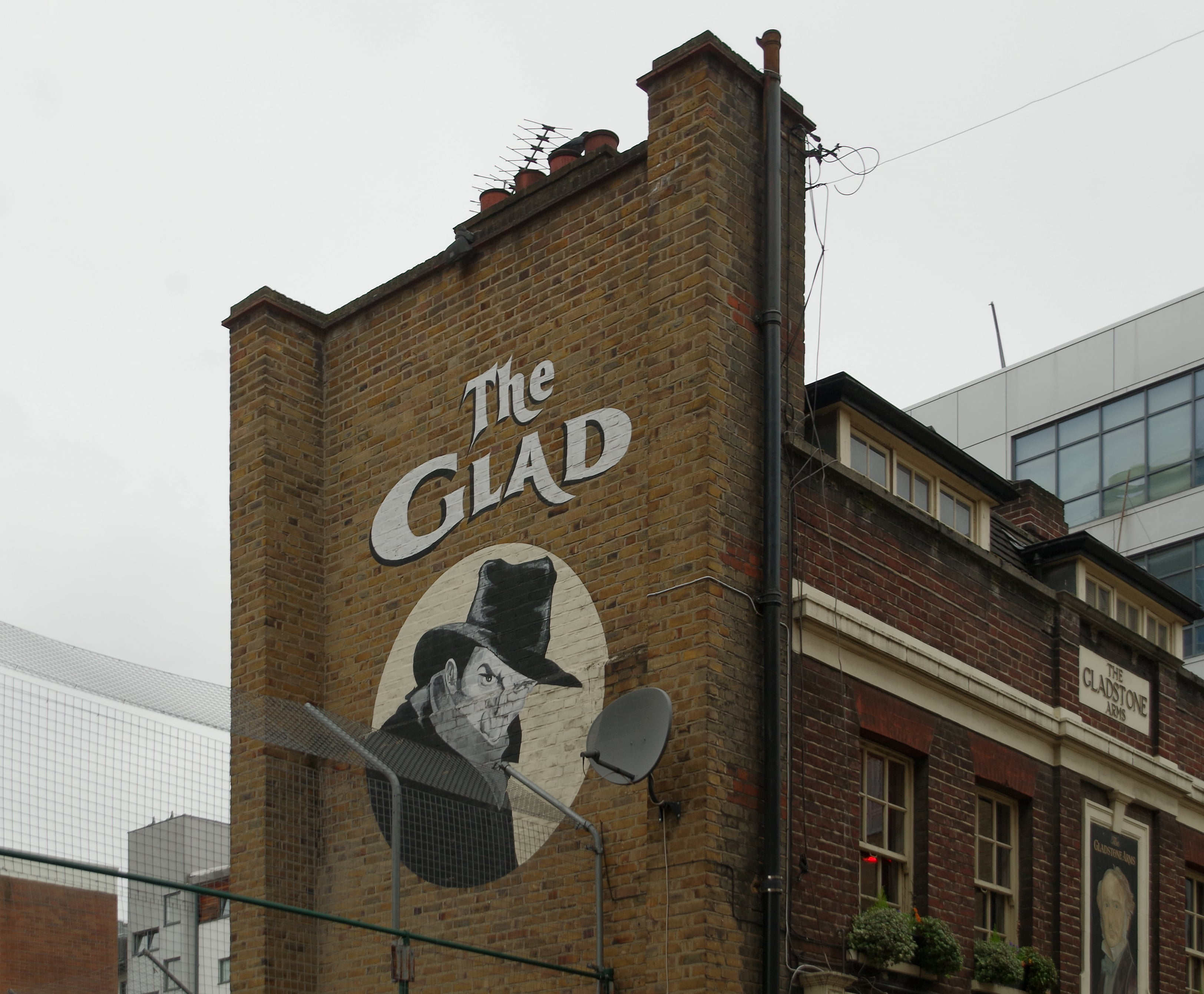"""For an authentic British ale, the """"Glad"""" is an excellent place to visit in London"""