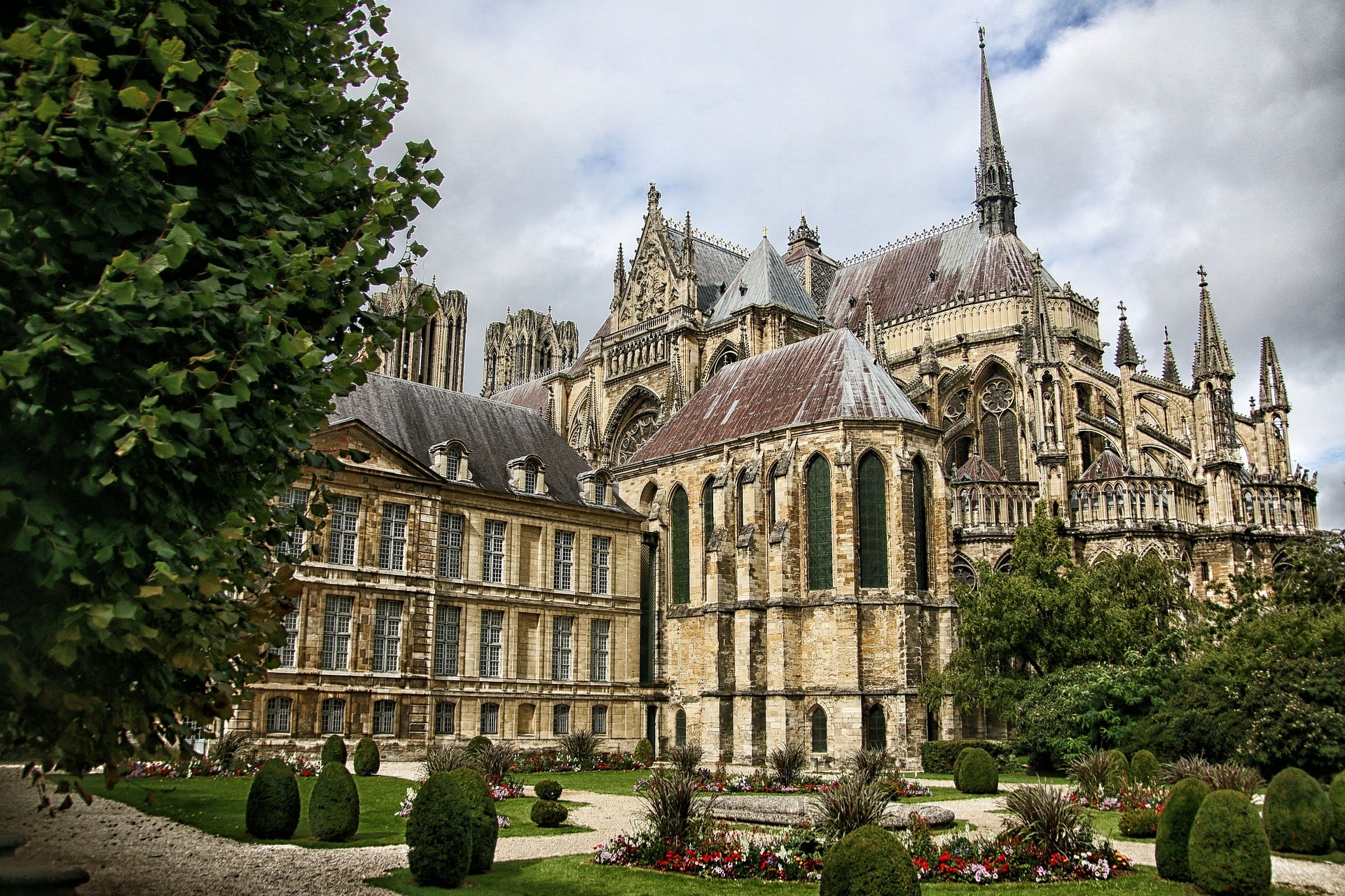 Reims is one of the most gorgeous places to visit in France