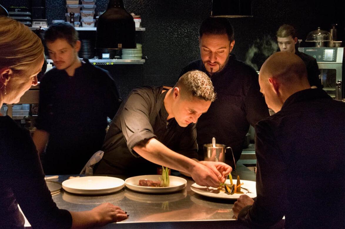 Restaurant Sinne using Formitable for more reservations