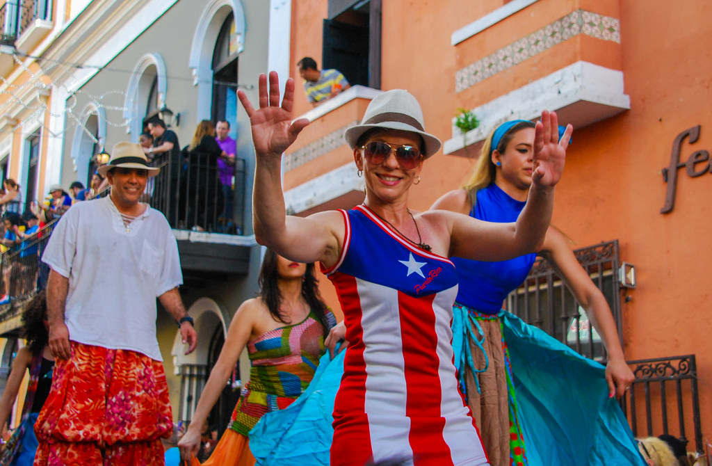 San Sebastian Street Festival is one of the unique things to do in Puerto Rico