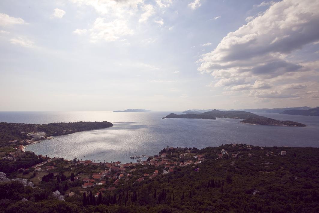 beaches and clouds on the Dalmatian Coast on visit Croatia