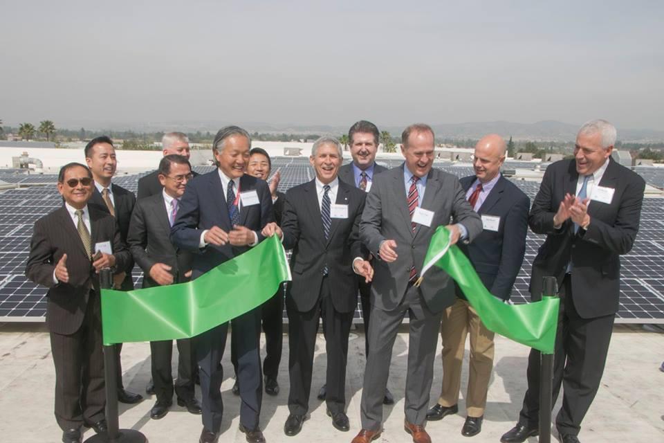 SunGreen Systems YKK-USA ribbon cutting ceremony