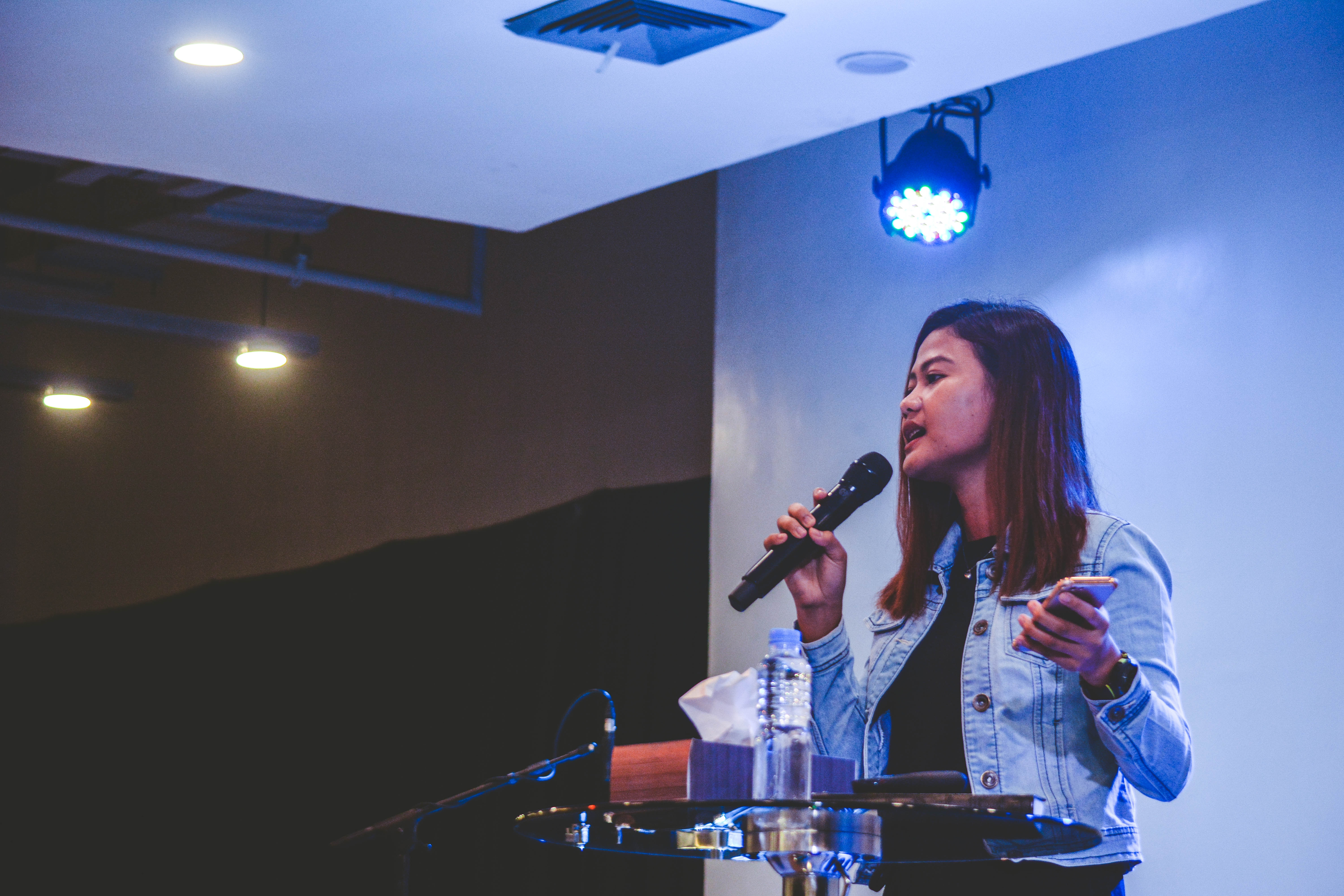 Singing karaoke is one of the things to do in Tokyo at night in Japan