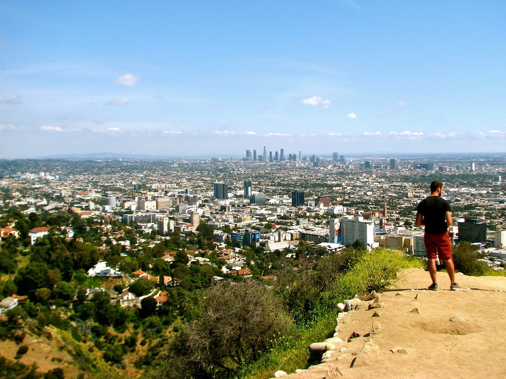Going for a beautiful run in Runyon Canyon is a great thing to do in LA