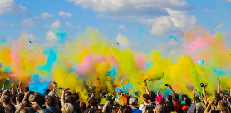 Experiential marketing for events