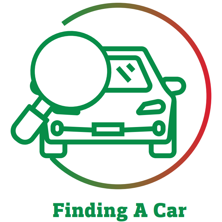 find a car icon