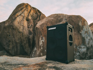 The New SOUNDBOKS is quite literally the speaker of our dreams. It's the peak that Jesper, Christoffer, Hjalte and the original team reached for.