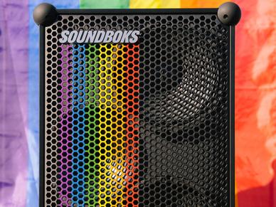 SOUNDBOKS pride speaker