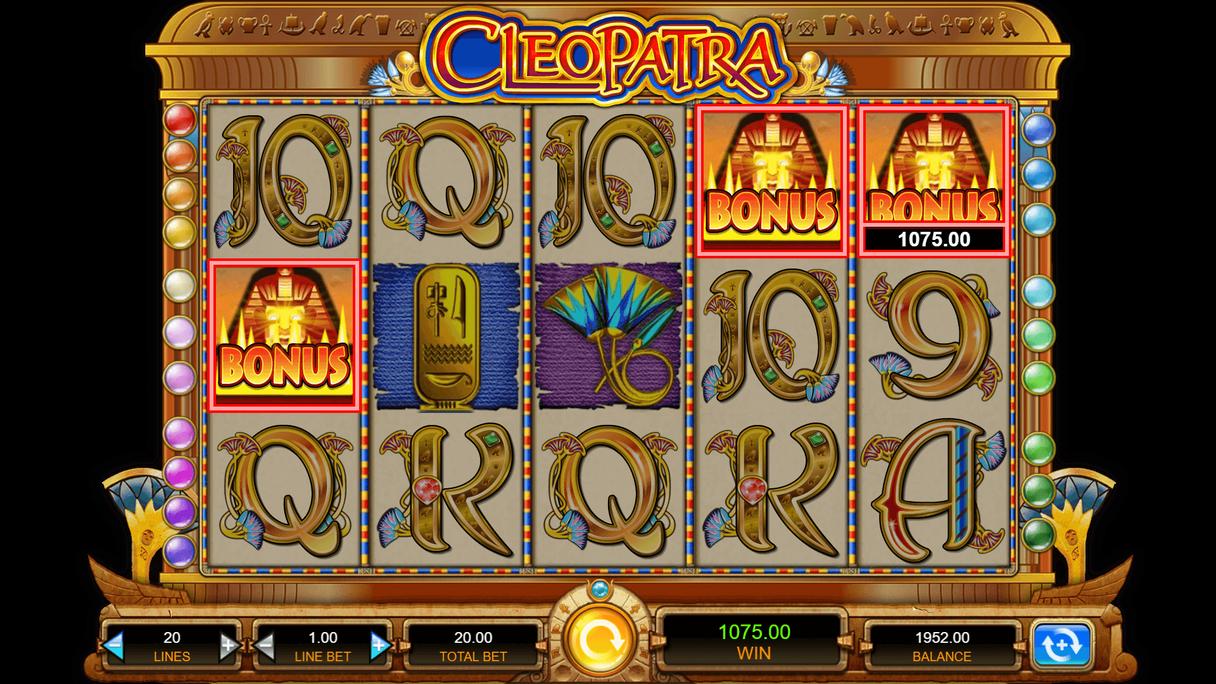 comment jouer à Cleopatra