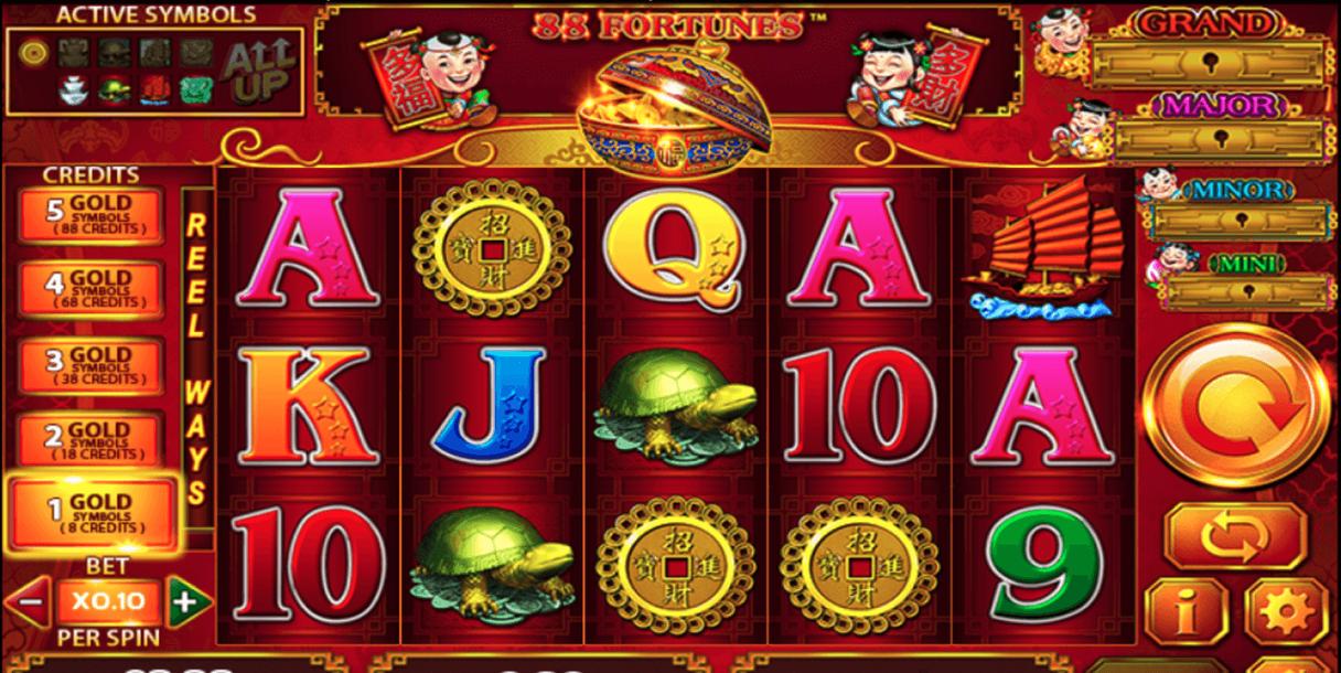 88 Fortunes Game