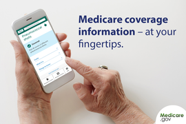 """Medicare's """"What's covered"""" mobile app"""
