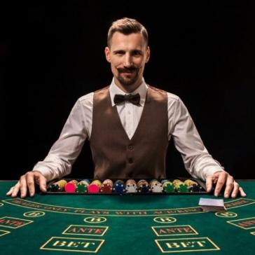 Croupiers en Direct - Blackjack