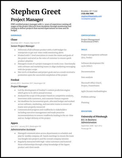 Project management resume bullets critical essay writers website us