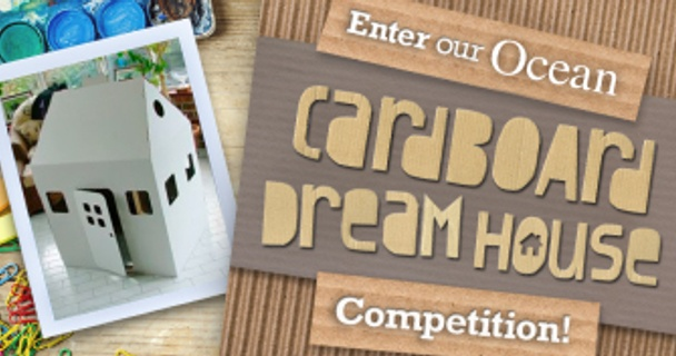 Could your child win our Cardboard Dream house competition?