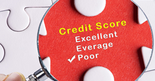 How a poor credit history affects pay-monthly insurance