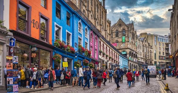 Edinburgh high street