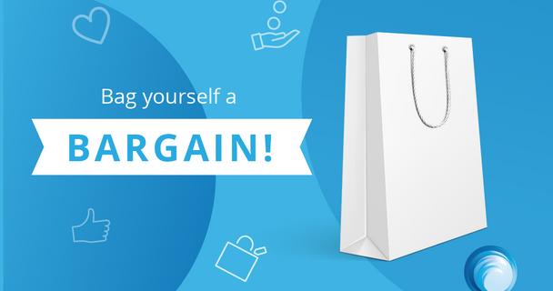 Bag a Bargain - Win a £25 Amazon voucher!
