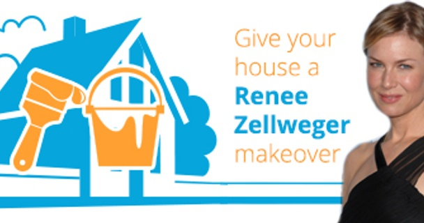 Give your house a Renée Zellweger makeover