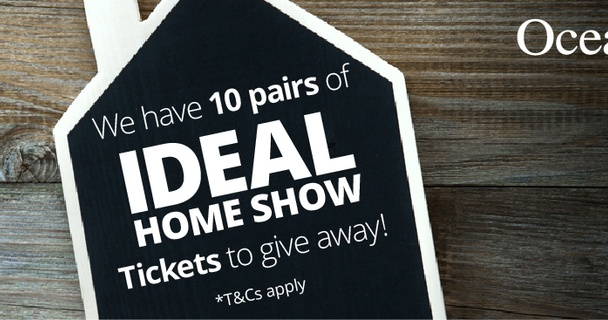 Win tickets to the Ideal Home Show Manchester with Ocean!