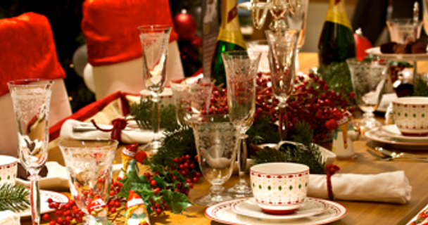 Hosting family at Christmas