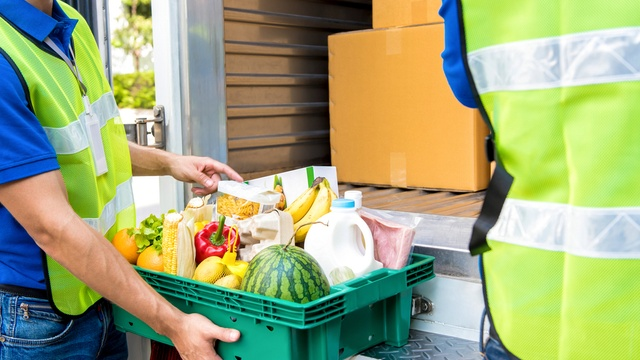 Which supermarket delivery is the cheapest?