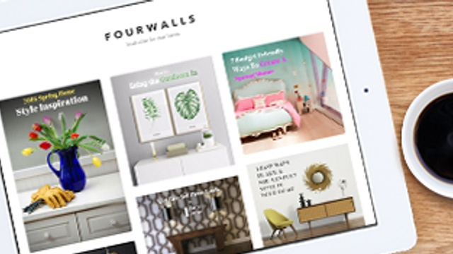 Get home inspiration with Ocean's new FourWalls site