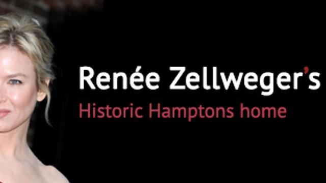 Renée Zellweger's historic Hamptons home