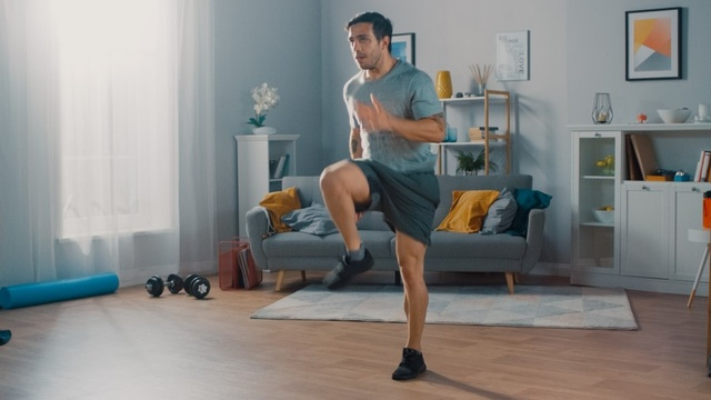 How to stay fit and active at home during lockdown
