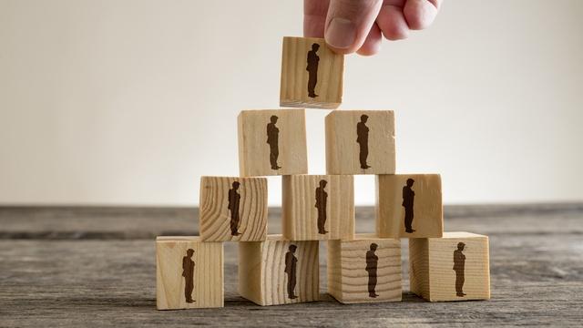 What is a pyramid scheme?