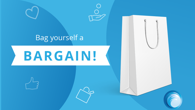 Bag yourself a bargain & Win £25!