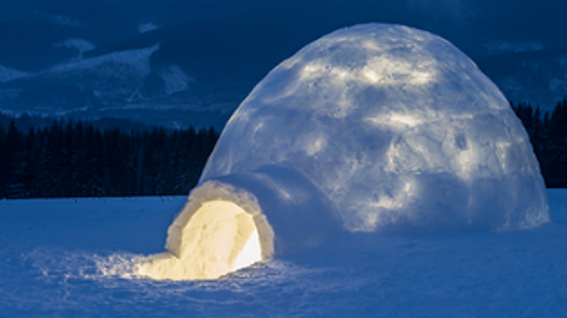 Get crafty with your kids in our creative igloo project!
