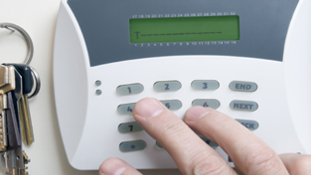 Why your burglar alarm isn't just an ornament
