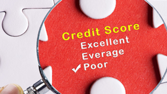 What does adverse credit history mean?