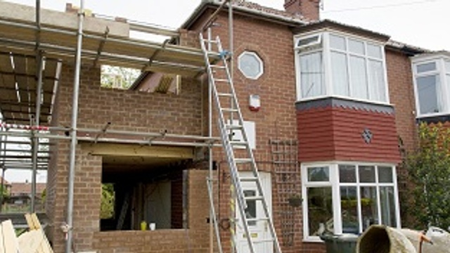 Does my home insurance cover me during building work?