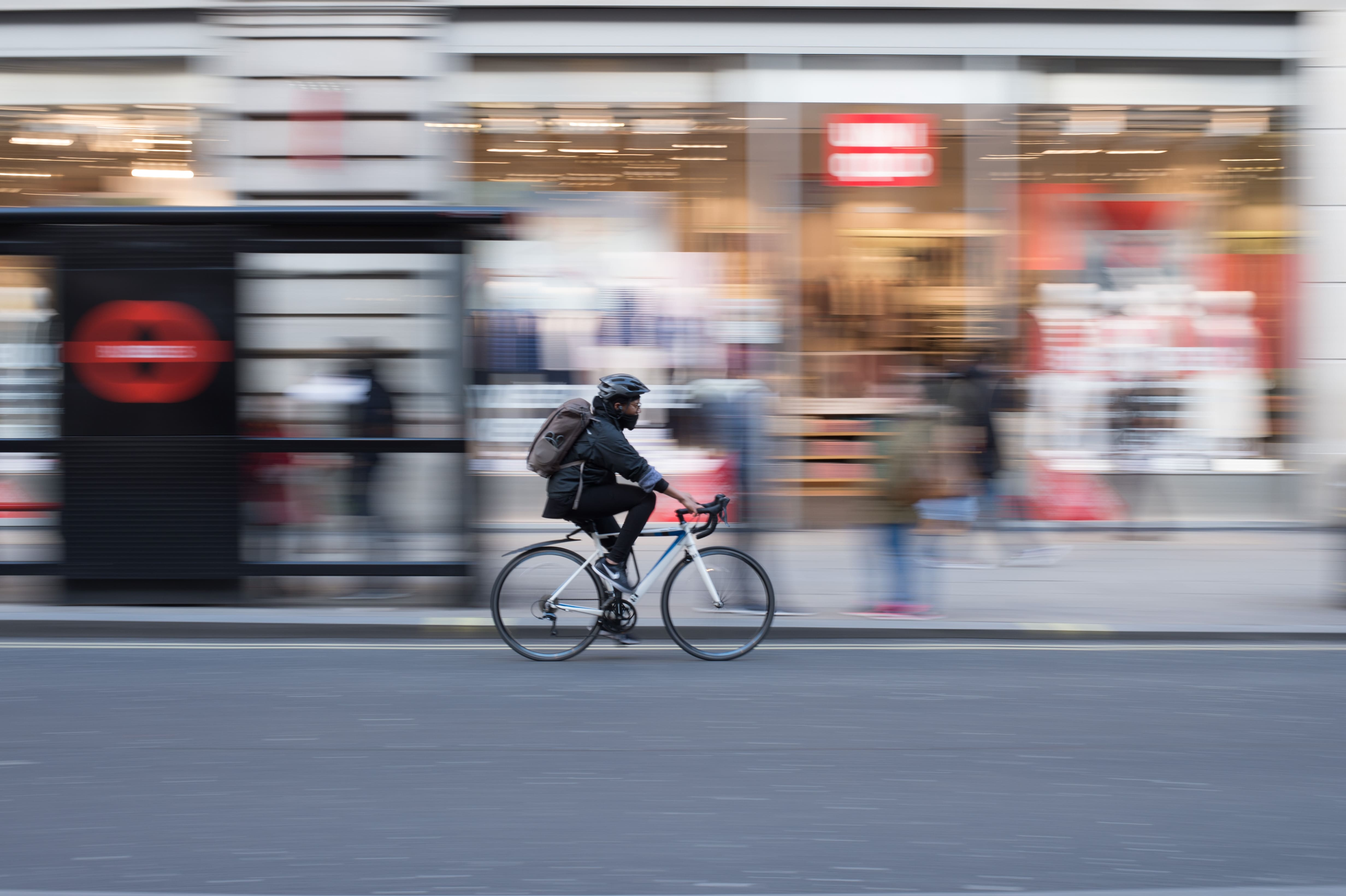 Bikes are a form of London transportation, but be sure you know all the rules