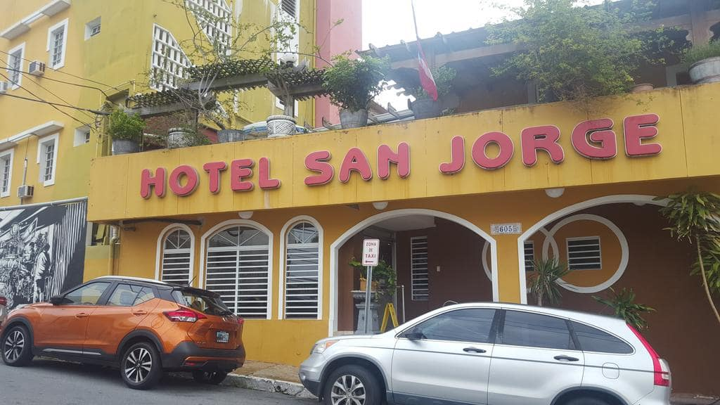 Hotel San Jorge is a classic hostel in Puerto Rico