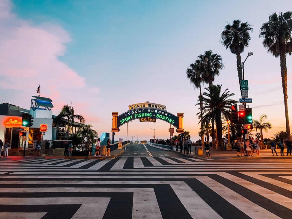 Check out the Santa Monica Pier for an exciting thing to do in LA